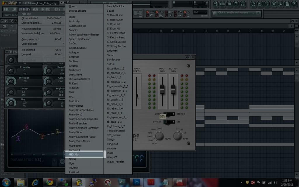 MIDI Out on FL Studio
