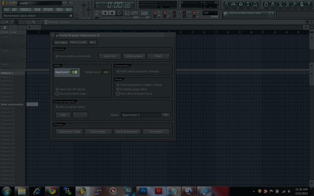 FL Studio VSTi MIDI Input Port