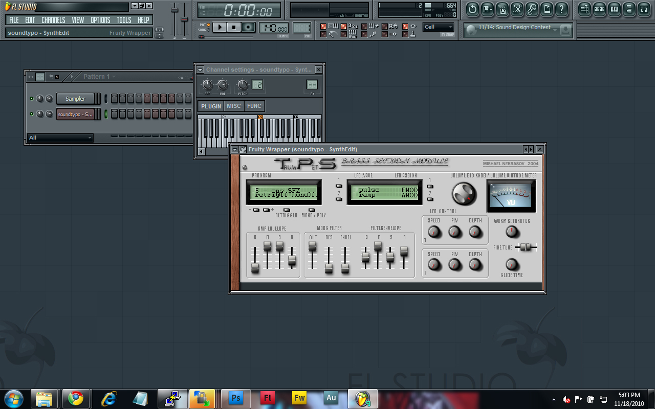 The new VST ready for use.