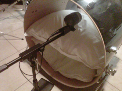 Shure Beta 52A Inside Kick Drum
