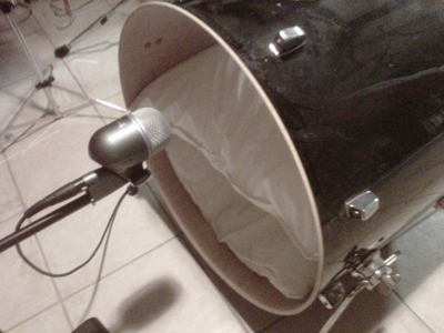 Shure Beta 52A Outside Kick Drum